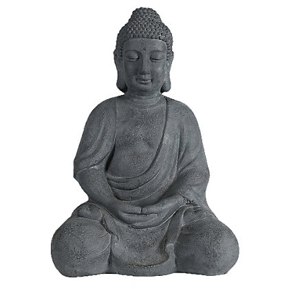 Image for Paradise Buddha Garden Ornament - Grey from StoreName