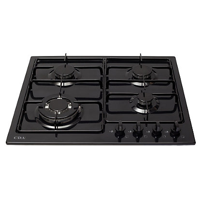 Image for CDA HG6250BL 4 Burner Gas Hob from StoreName