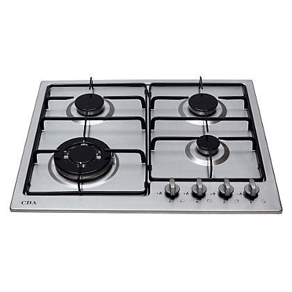 Image for CDA HG6250SS 4 Burner Gas Hob from StoreName
