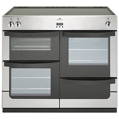Image for New World Vision Induction Range Cooker - Stainless Steel - 100cm from StoreName