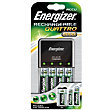 Energizer Quattro 2000mAh Charger with 4 x AA 2000mAh Batteries