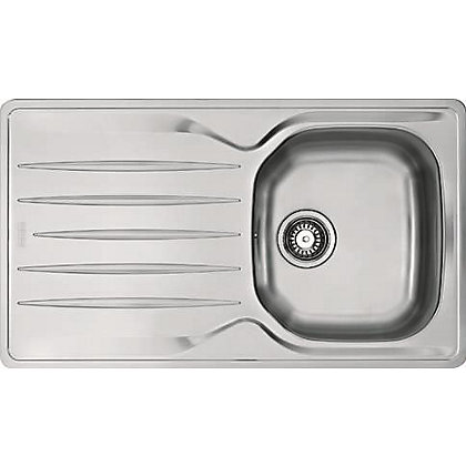 Image for Hygena ISKEN Compact Stainless Steel Sink - 1 Bowl from StoreName