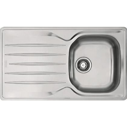 hygena isken compact stainless steel sink 1 bowl - Compact Kitchen Sink