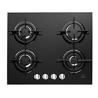 Indesit IPG 640 S BK GB Hob - Black