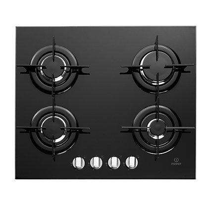 Image for Indesit IPG 640 S BK GB Hob - Black from StoreName