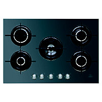 Indesit IPG751SBK Gas Hob - Black