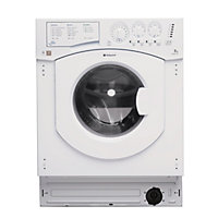 Hotpoint Aquarius BHWM 129 /2 Built-in Washing Machine - White