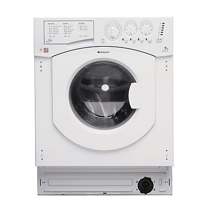 Image for Hotpoint Aquarius BHWM 129 /2 Built-in Washing Machine - White from StoreName