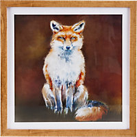 Heart of House Homestead Fox Framed Print
