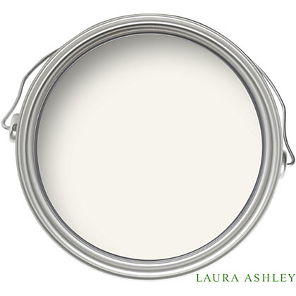 Image for Laura Ashley Cotton White Decorative Furniture Soft Sheen Paint -  1L from StoreName