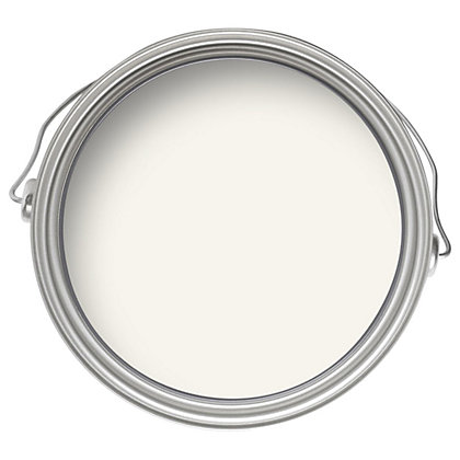 Image for Laura Ashley Cotton White Kitchen & Bathroom Soft Sheen Paint-  2.5L from StoreName