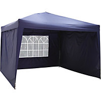 waterproof gazebo with side panels