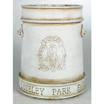 Image for Loseley White Plant Pot - 24cm from StoreName