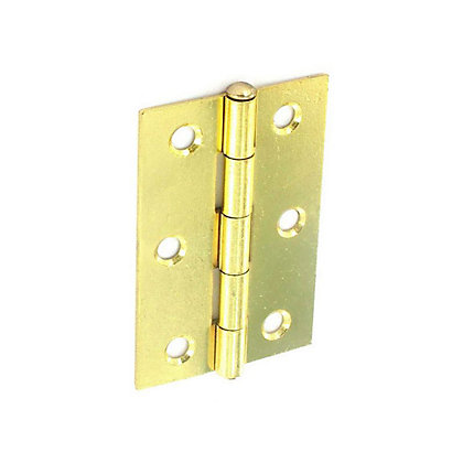 Image for Loose Pin Hinge Electro Brass - 75mm - Pack of 6 from StoreName