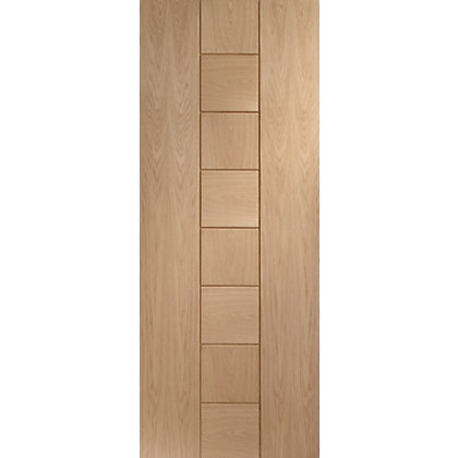 Image for Silsden 8 Panel Oak Internal Door - 838mm Wide from StoreName