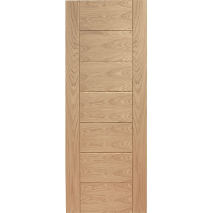 Image for Bromley 7 Panelled Oak Internal Door - 838mm Wide from StoreName