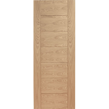 Image for Bromley 7 Panelled Oak Internal Door - 526mm Wide from StoreName
