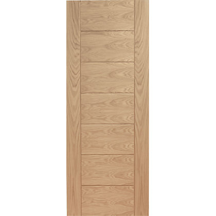 Image for Bromley 7 Panelled Oak Internal Door - 626mm Wide from StoreName