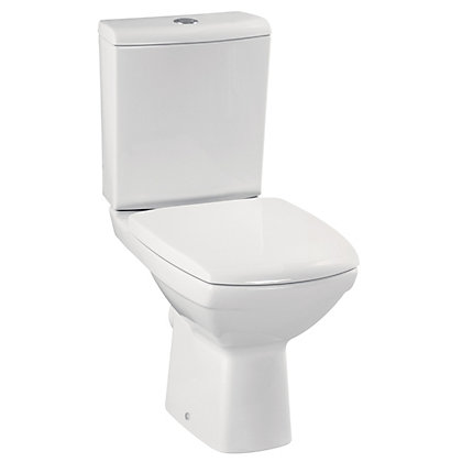 Image for Navassa Close Coupled Toilet With Soft Close Seat from StoreName