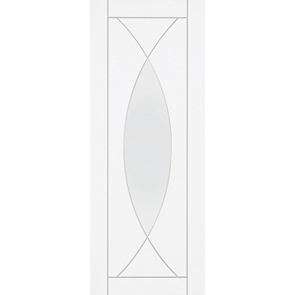 Image for Havant Lite Primed White Glazed Internal Door - 726mm Wide from StoreName