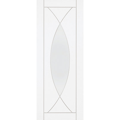 Image for Havant Lite Primed White Glazed Internal Door - 826mm Wide from StoreName