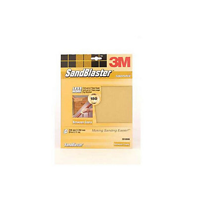 Image for 3M P180 SandBlaster Sandpaper - Very Fine - 3 Pack from StoreName