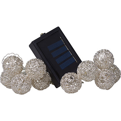 Image for 10 Messy Ball Solar String Lights from StoreName