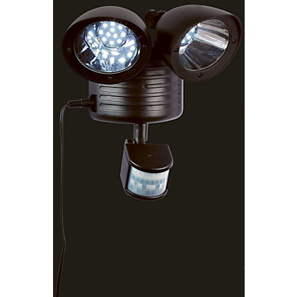 Image for Twin Spot Solar Security Light from StoreName