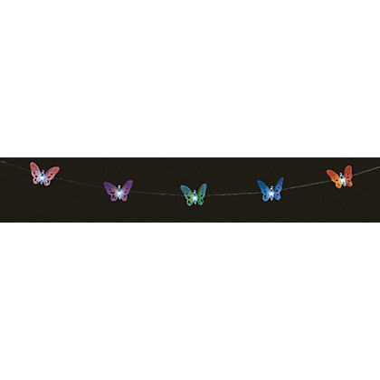 Image for 10 Solar Butterfly String Lights from StoreName