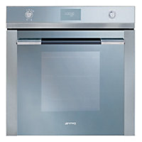 Smeg SF109 60cm Linea Multifunction Oven - Stainless Steel