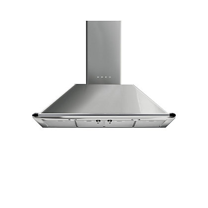 Image for Smeg Victoria KTR110XE Chimney Cooker Hood - 100cm - Stainless Steel from StoreName