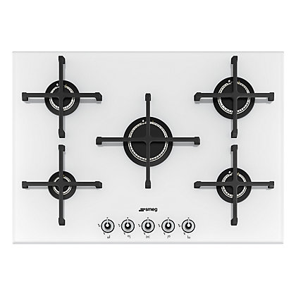 Image for Smeg PV175B Linea Gas on Glass Hob - 72cm from StoreName