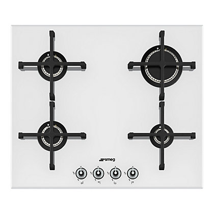 Image for Smeg PV164B Linea Gas on Glass Hob -60cm from StoreName