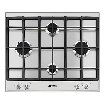 Image for Smeg P1640XT Linea Gas Hob - 60cm - 4 Burner from StoreName
