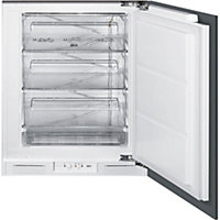 Smeg UKUD7108FSEP Integrated Under Counter Freezer - 60cm