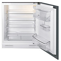 Smeg UKUD7140LSP Integrated Under Counter Fridge - 60cm