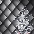 Marcel Wanders Flock Braille Chester Black Wallpaper