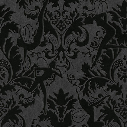 Image for Marcel Wanders Forest Muse Black Wallpaper from StoreName