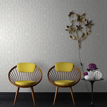 Image for Marcel Wanders Heart & Tulip Birch Wallpaper from StoreName