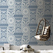 Marcel Wanders World Heritage Blue Wallpaper