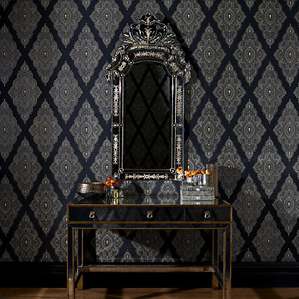 Image for Julian McDonald  Jewel Black & Gold Wallpaper from StoreName