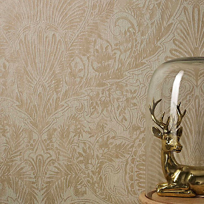 Image for Julian McDonald  Burlesque Cream & Gold Wallpaper from StoreName