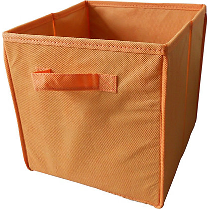 Image for Non-Woven Storage Box - Orange from StoreName