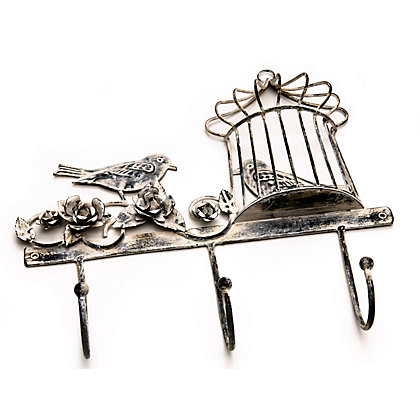 Image for Rustic Bird Cage Coat Hook from StoreName
