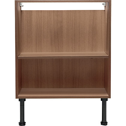 Image for Schreiber Fitted Double Base Unit - Walnut Effect from StoreName