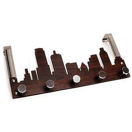 Image for Cityscape 5 Over The Door Coat Hook from StoreName