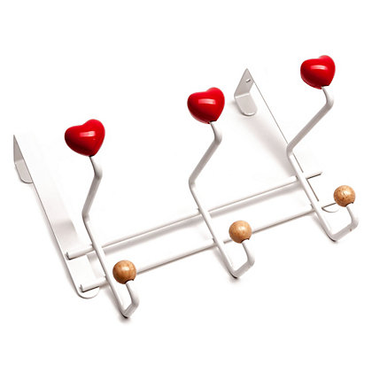 Image for Hearts Over The Door Coat Hook from StoreName