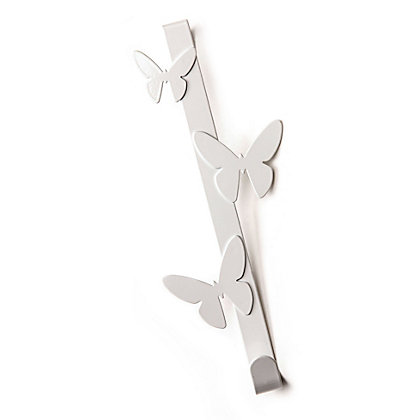 Image for Butterfly Over The Door Coat Hook from StoreName