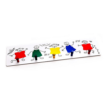 Image for Kids Crayon Coat Hook from StoreName