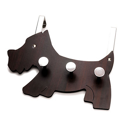 Image for Scotty Dog Over the Door Coat Hook from StoreName